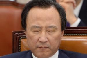 '재판거래 연루 의혹' 홍일표, 1심서 벌금 1000만원…의원직 상실 위기