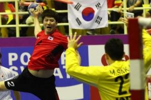 -아시안게임- 남자핸드볼, 일본과 무승부…조 1위로 그룹결선 진출