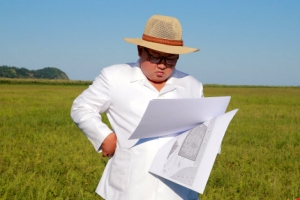 김정은, 한달 전 찾은 함경북도 온실농장 부지 또 시찰