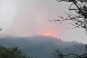 안양 삼성산 불…헬기 4대 투입해 7시간만에 큰 불 진화