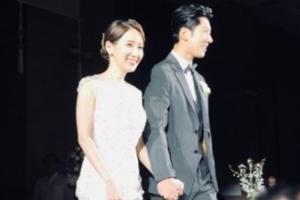 [포토] 트로트 가수 현상♥기상캐스터 이현승, 결혼식 사진 공개