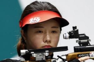 정은혜, 사격 여자 10m 공기소총 5위서 극적인 은메달