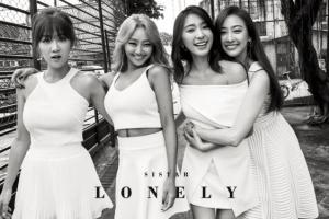 굿바이 씨스타…해체 전 마지막 싱글 '론리' 화보 공개