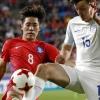 한국, 잉글랜드에 0-1 패배…'A조