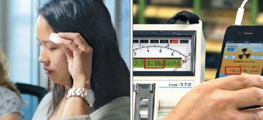 스마트 프로덕트의 대표적인 사례로 꼽히는 모바일 의료기기 '트라이코더'(왼쪽)와 휴대용 방사능 측정기. KBS 제공