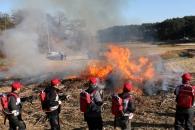 영농 폐기물 태워 산불 예방