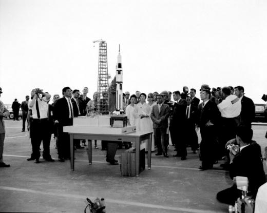 NASA 방문한 朴대통령