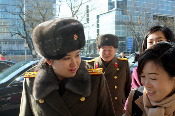 '북한판 걸그룹' 모란봉악단 단장 현송월