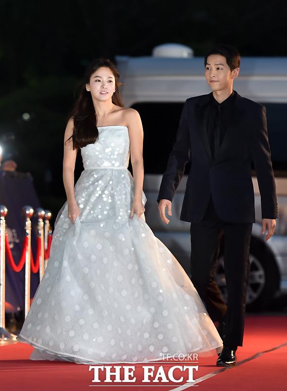 '2016 백상예술대상' 송중기 송혜교