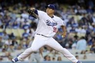 류현진, 복귀전서 MLB 첫 1회 선두타자 홈런…이후 3타자 범타