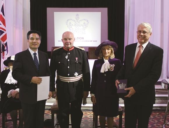 하나님의교회 세계복음선교협회(이하 하나님의 교회)가 지난 4일 엘리자베스 2세 여왕으로부터 영국 최고의 봉사상인 '여왕 자원봉사상'을 받았다.