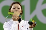 (영상) 장혜진, 여자양궁 개인전 金…한국 첫 2관왕
