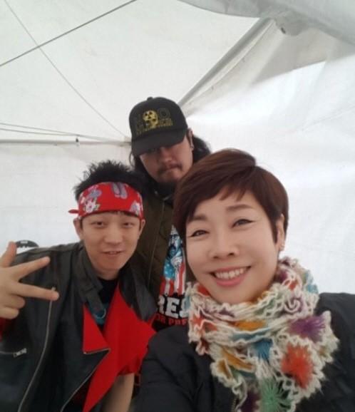 """""""모이자 분노하자"""" 김미화, 광화문 3차 촛불집회"""