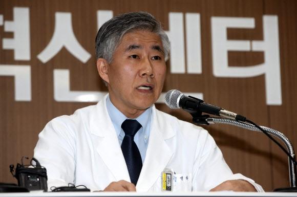 백선하 서울대병원 교수. 연합뉴스