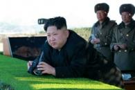 """北김정은 """"남조선 것들 쓸어버려야""""…포사격훈련 지…"""