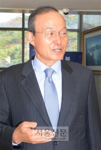 송민순 전 외교통상부 장관