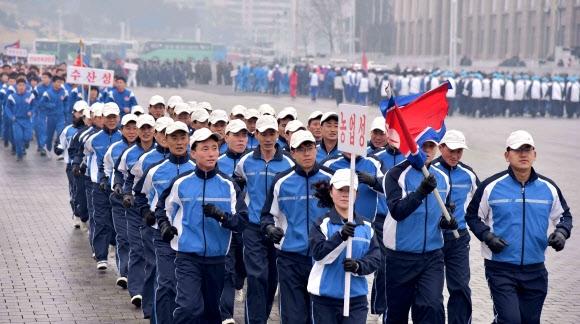 북한 새해 첫 체육의 날