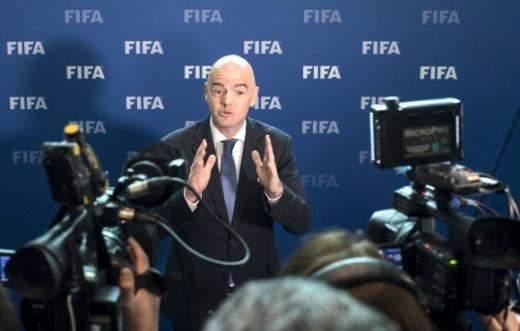 잔니 인판티노 FIFA 회장 AP 연합뉴스