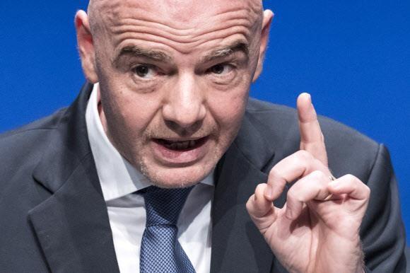 잔니 인판티노 국제축구연맹(FIFA) 회장. EPA 연합뉴스
