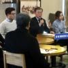 """문재인 """"직무정지된 박 대통령 참모 대외활동은 탄핵제도 위반"""" 비판"""