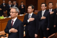 """외교 위기감에 4강·유엔대사 긴급회의… """"한치 흔들…"""