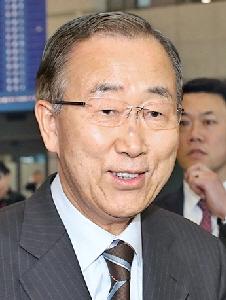 반기문 전 유엔 사무총장 연합뉴스