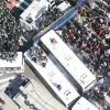 탄핵 반대 집회에서 경찰버스 탈취해 차벽 들이받은 60대 실형
