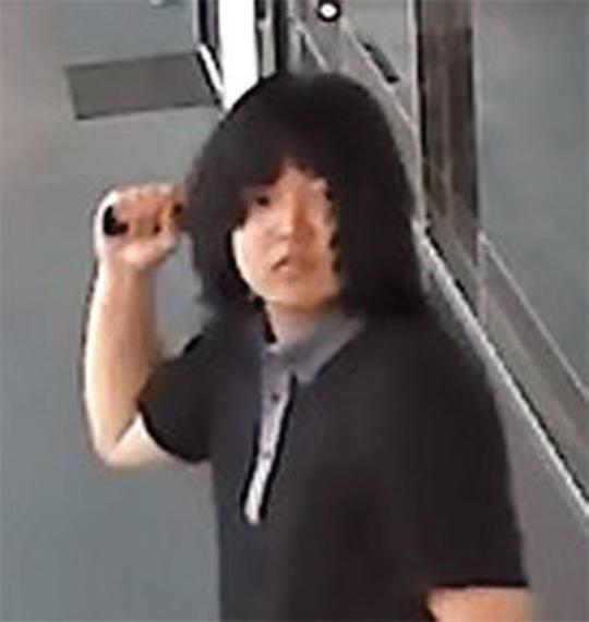 LA 한인타운 망치폭행사건 용의자  CCTV 캡처