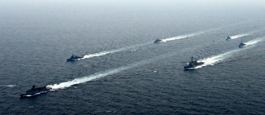 제주 해역서 한-미 연합 해상기동훈련
