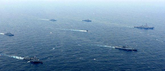 한-미 연합 해상기동훈련