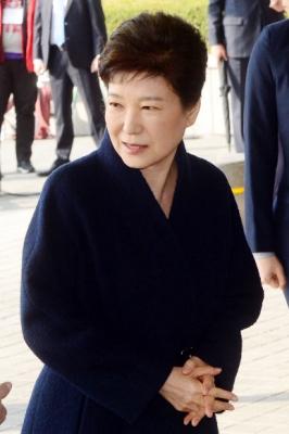 [박근혜 소환] 박 전 대통령, 담담한 표정
