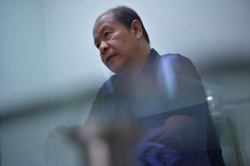 두테르테 암살단 폭로 전직 필리핀 경찰관[더스트레이츠타임스 홈페이지 캡처]연합뉴스