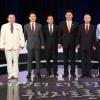 """군소 후보들 """"우리도 있다"""" 첫 TV토론회 열띤 홍보전"""