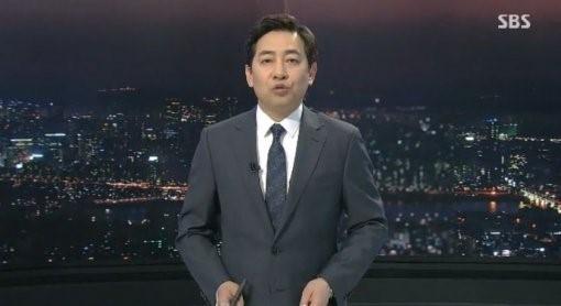김성준 SBS 보도본부장. 출처=SBS 화면 캡처