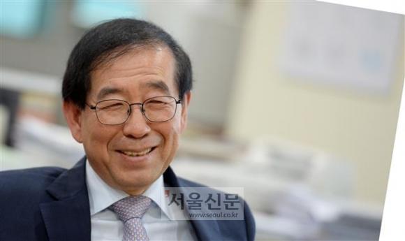 박원순 서울시장. 이언탁기자 utl@seoul.co.kr