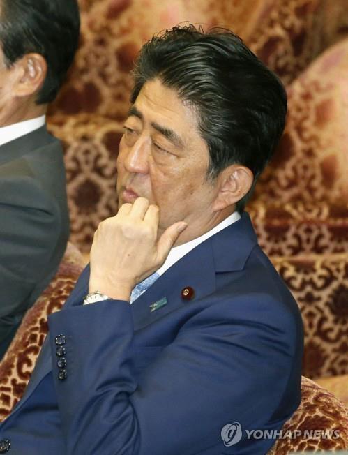 아베 신조(安倍晋三) 일본 총리 연합뉴스