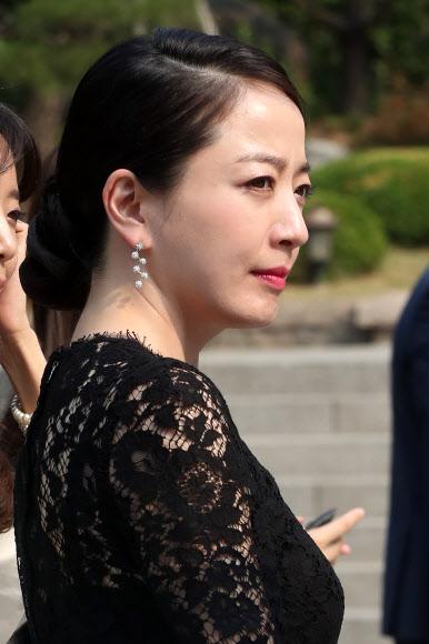 정몽준 장녀 결혼식 참석한 노현정