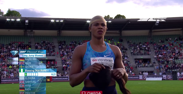 IAAF Diamond League youtube
