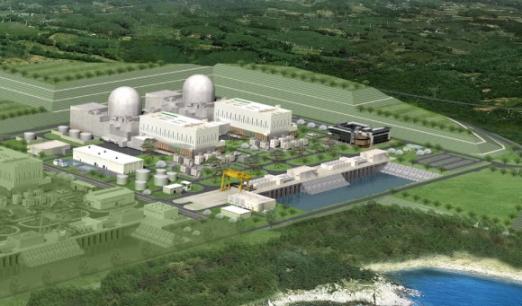 2022년 완공 예정인 신고리 5·6호기 조감도. 한국수력원자력 제공
