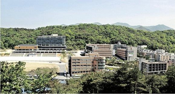 춘해보건대 캠퍼스 전경.