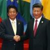 """시진핑·아베 정상회담…시진핑 """"미국의 대북 독자제재 반대"""""""