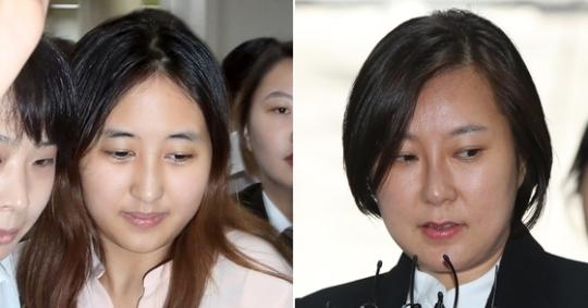 정유라 장시호  연합뉴스
