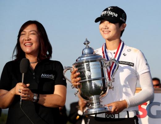 박성현 US 여자 챔피언십 우승