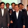 문 대통령도 발언권 양보하는 국가재정전략회의…자율적인 열띤 토론