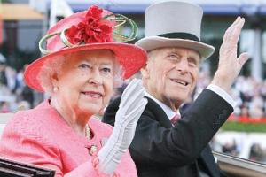 70년 함께한 여왕과 마지막 인사하는 '외조의 왕' 필립공