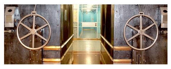 미 연방준비은행의 지하금고 자료 : 미 연방준비은행 홈피 캡쳐