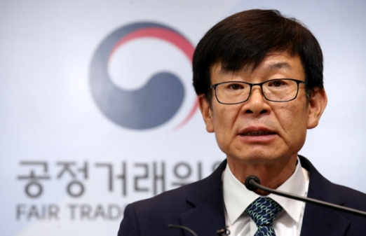 김상조 공정거래위원장 연합뉴스