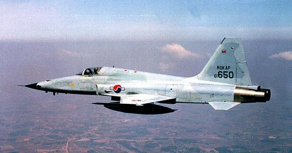 F5-E 전투기.  연합뉴스