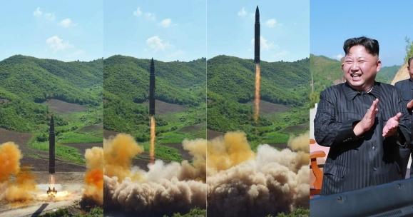 Японы дээгүүр алсын тусгалтай пуужин харвасан билээ. зурган илэрцүүд