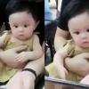 [별별영상] 처음으로 공포 영화 본 아기 반응